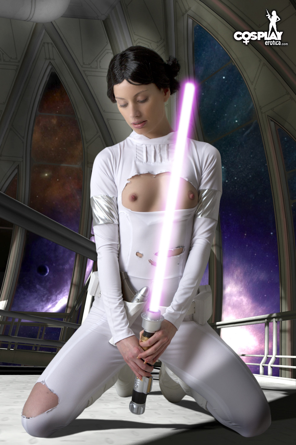 Star wars cosplay xxx nude video